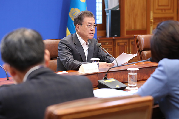 Moon Pledges Another Coronavirus Relief Package to Revive Exports, Domestic Demand