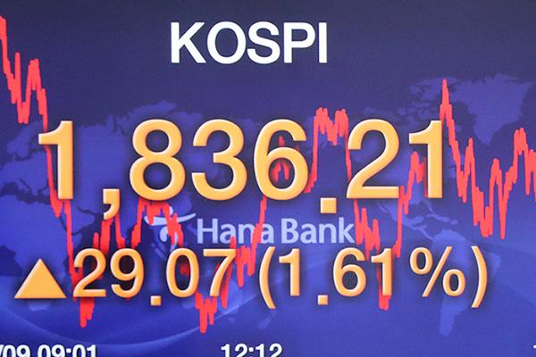 La Bourse de Séoul remonte