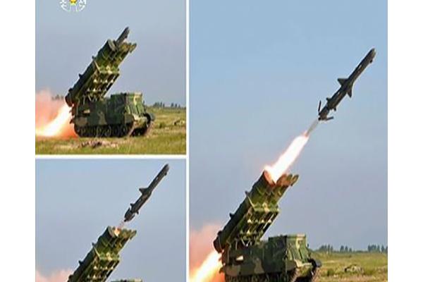 北韩宣布成功试射新型远程巡航导弹 金正恩未观摩