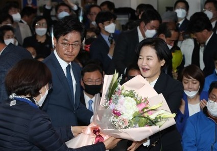 Judge-Turned-Politician Defeats UFP Veteran Na Kyung-won in Dongjak
