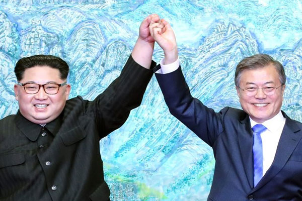 Peringatan Dua Tahun Deklarasi Panmunjeom, Korsel Rayakan Pembangunan Kembali Rel Kereta Antar-Korea