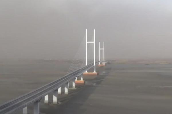 北韩正致力于开通新鸭绿江大桥的工作