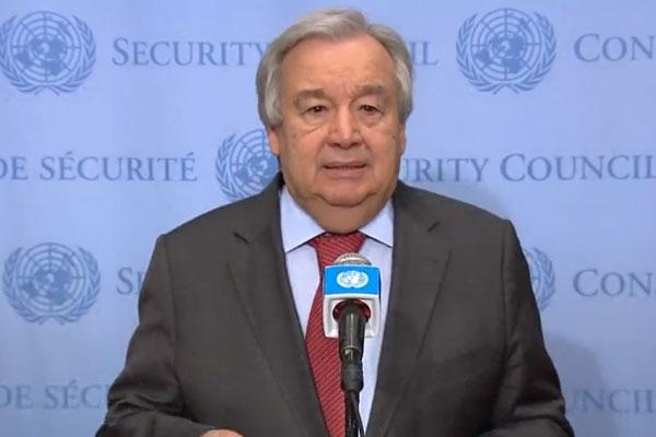 UN Chief Praises S. Korea on COVID-19 Fight, Climate Change