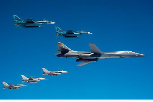 AS Terbangkan Pesawat Pengebom Strategis Dekat Korsel