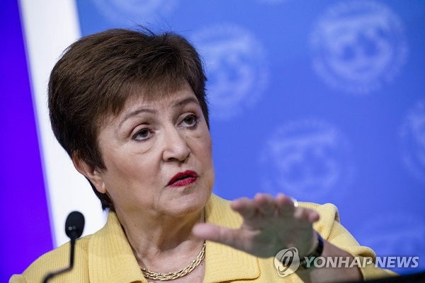 IMF Chief: S. Korea Suffered Least Economic Loss from Pandemic in OECD