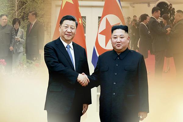 Главы КНДР и КНР обменялись устными посланиями
