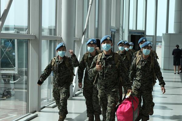 Tropas coreanas de paz parten hacia Sudán del Sur