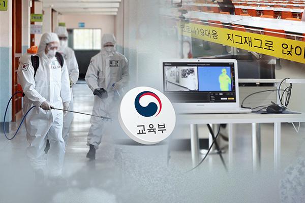 وزارة التربية الكورية تستعد لإعادة افتتاح المدارس