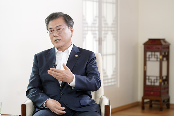 Мун Чжэ Ин: Дух Движения за демократию 18 мая должен быть закреплён в Конституции