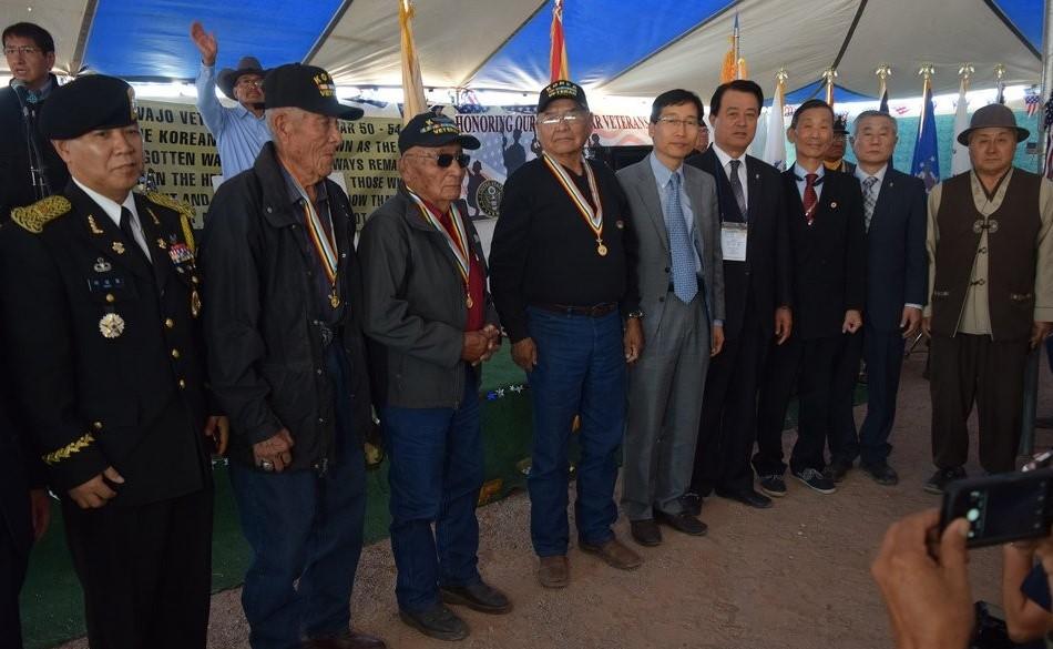 S. Korea to Provide 10,000 Face Masks to Native American Veterans