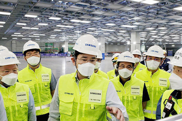 Samsung Electronics Sends 300 Additional Engineers to Xian Chip Plant