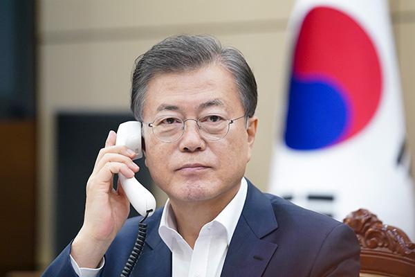 Tổng thống Hàn Quốc-Georgia thảo luận hợp tác đối phó dịch COVID-19