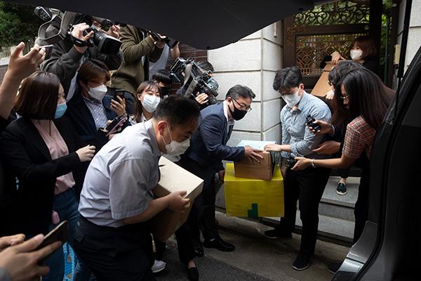 韩检方对麻浦区慰安妇受害者援助设施进行没收调查