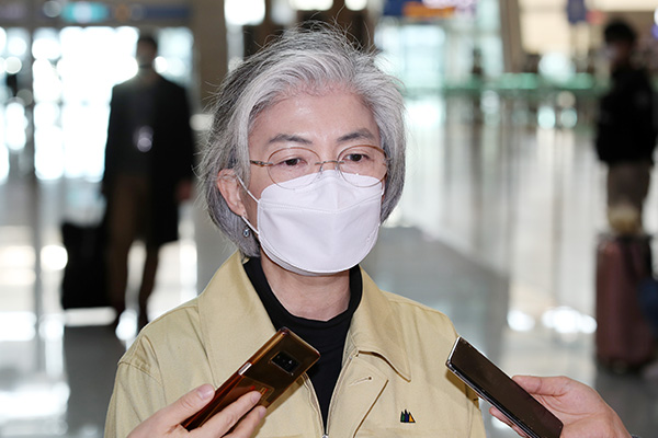 Außenministerin: Rückkehr zum Leben vor Corona-Ausbruch unmöglich