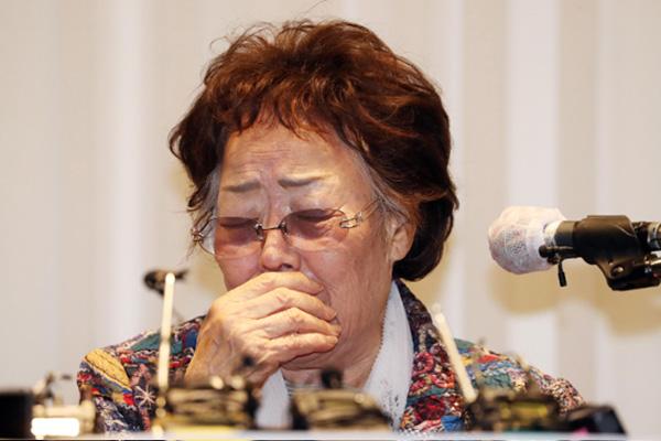 이용수 할머니 기자회견에 민주