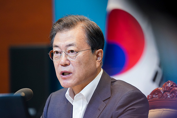 الرئيس مون يشدد على ضرورة تعبئة القدرة المالية الشاملة للدولة