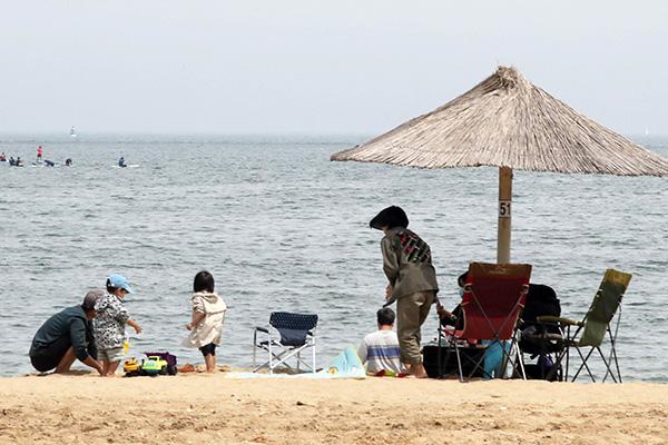 В РК представлены правила соблюдения режима повседневного карантина на пляжах