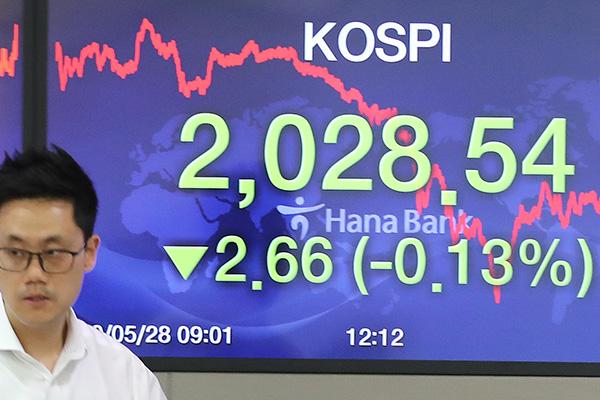 La tensión entre EEUU y China afecta a la Bolsa surcoreana