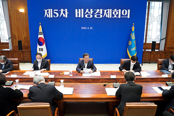 Presiden Moon Akan Pimpin Rapat Ekonomi Darurat Minggu Depan