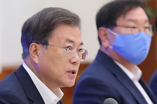 Moon Concerned about Impact of US-China Tensions on S. Korean Economy