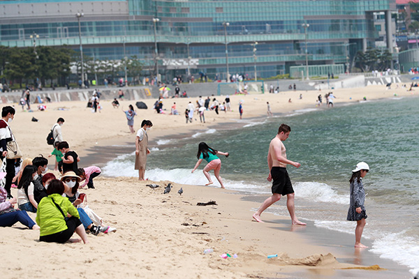El Gobierno establece pautas sanitarias en las playas