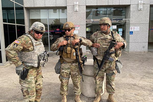 Militer Bersenjata Dikerahkan untuk Jaga Komunitas Warga Korsel di Los Angeles, AS