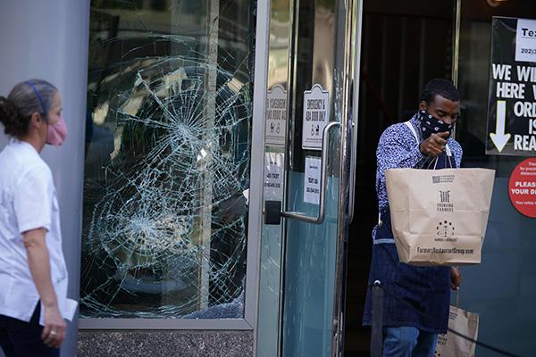 В результате антирасистских выступлений в США повреждено имущество граждан РК