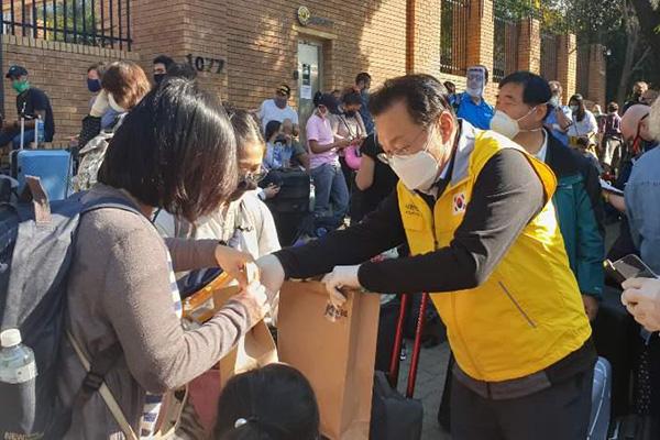 Pandemi COVID-19, Sebanyak 28 Warga Negara Korsel Akan Pulang dari Afrika Selatan