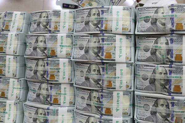 زيادة الاحتياطي الكوري من النقد الأجنبي للشهر الثاني في مايو
