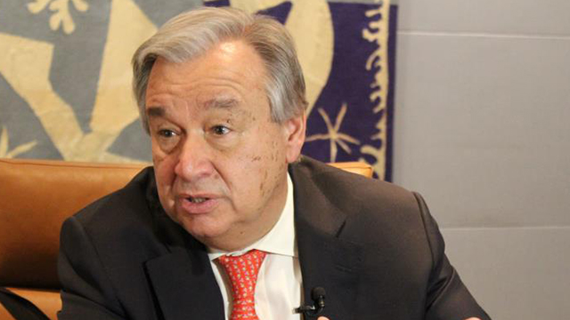 UN Chief Hopes for Resumption of Inter-Korean Dialogue