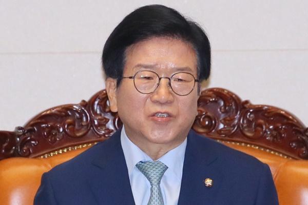 韩第21届国会艰难启动 朴炳锡被选为议长
