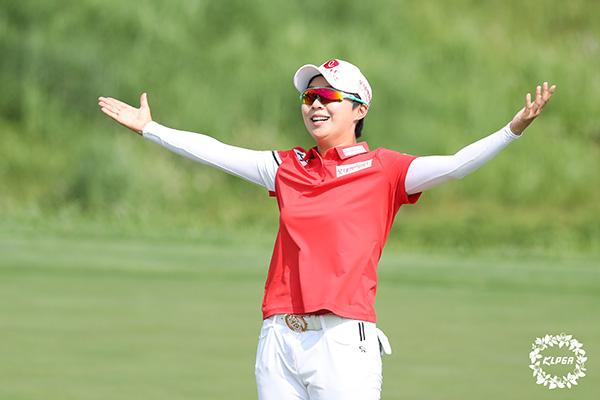Golf féminin : victoire spectaculaire de Kim Hyo-joo