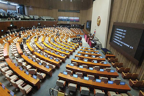 雅诗-韩第21届国会尚未达成组织安排协议
