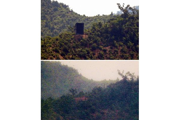 「北韓、再設置した拡声器10個を撤去」政府消息筋
