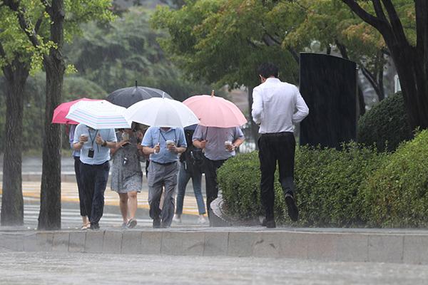 Las lluvias monzónicas dejarán hasta 120mm