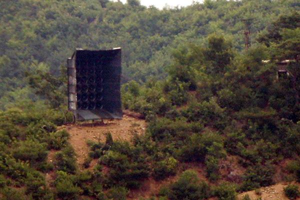 Nordkorea entfernt anscheinend Propaganda-Lautsprecher wieder