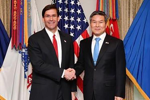 Bộ trưởng Quốc phòng Hàn-Mỹ ra tuyên bố chung kỷ niệm 70 năm chiến tranh Triều Tiên