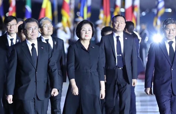 文在寅强调维护北韩体制安全 寻找南北关系突破口