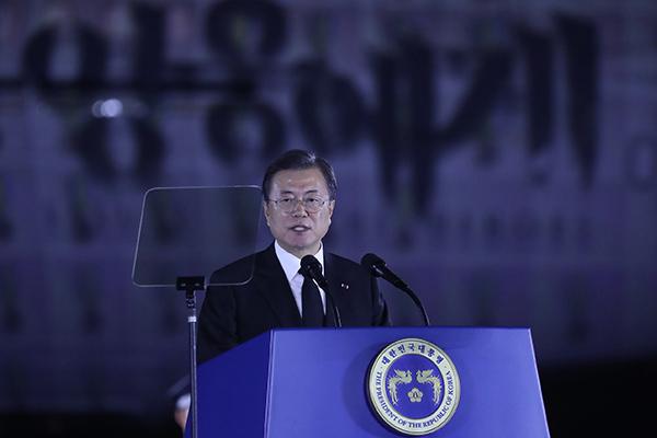 Guerre de Corée : Moon Jae-in souligne sa volonté de garantir la sécurité du régime nord-coréen