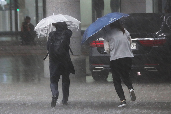 S. Korea Enforces Preparatory System for Nationwide Torrential Rain