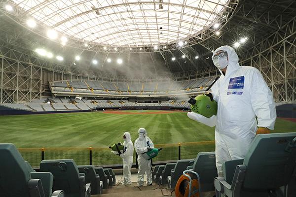 韩国职业体育比赛将允许观众入场观看