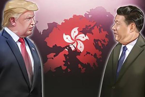 """미국 """"홍콩 특별대우 박탈""""…추가 제재 검토"""