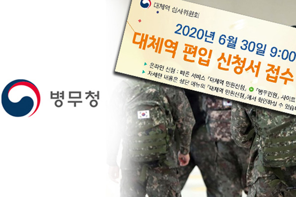 Hàn Quốc bắt đầu tiếp nhận đơn đăng ký nghĩa vụ quân sự thay thế