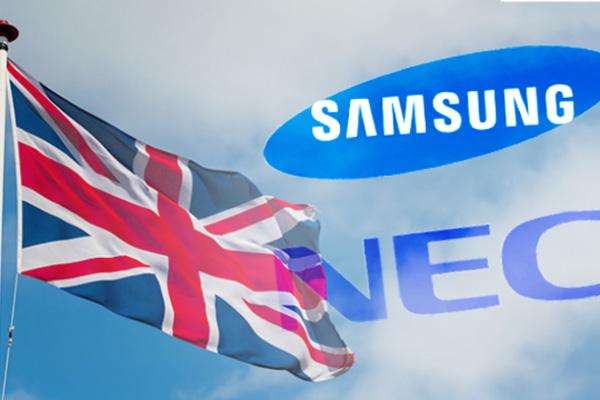 Reino Unido apuesta por Samsung y NEC para su proyecto 5G
