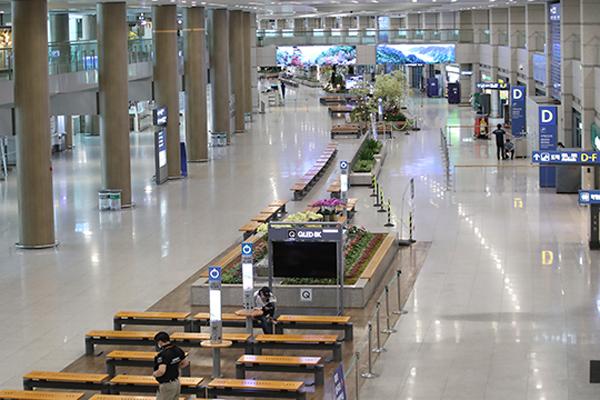 Las aerolíneas coreanas registran un descenso del 98% de viajeros internacionales