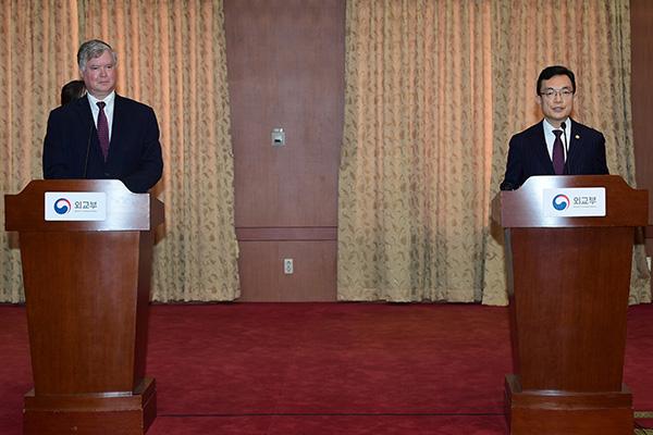 Südkorea und USA wollen sich für Wiederaufnahme von Dialog mit Nordkorea einsetzen