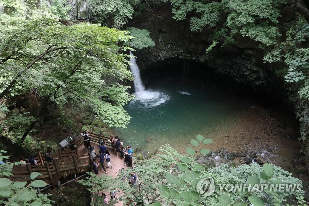 نهر  هان تان يصبح حديقة جيولوجية عالمية لليونسكو