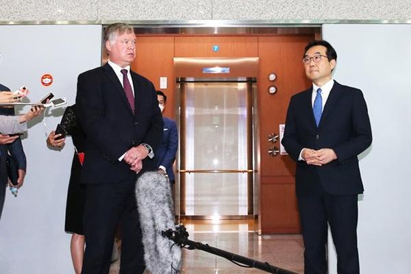 Négociations autour de la contribution financière de la Corée du Sud à la présence des forces américaines