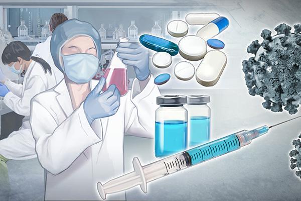 COVID-19 : plus de 140 millions d'euros pour le développement de vaccins, de traitements et d'équipements