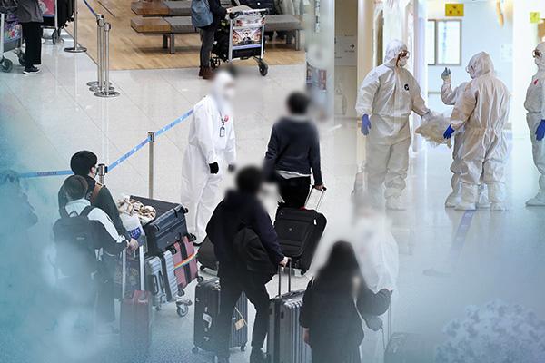 防疫強化対象国から入国の外国人 「陰性確認書」の提出を義務化